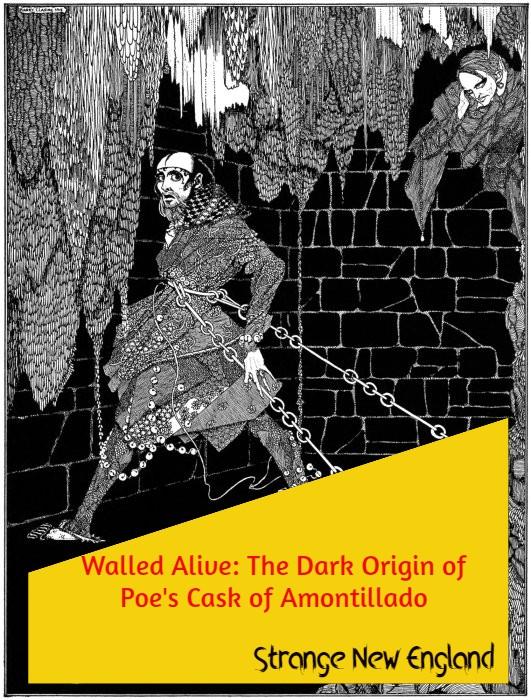 Title - Walled Alive - The Dark Origin of Poe's The Cask of Amontillado